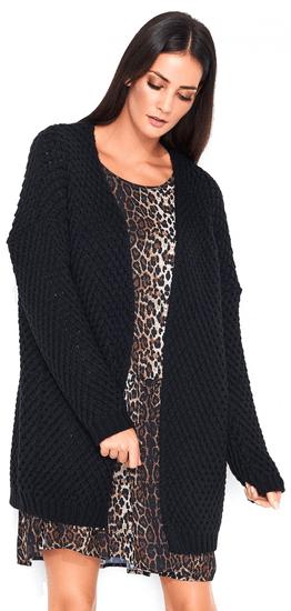 Numinou dámsky sveter NU_s45 uni čierna