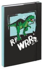 BAAGL teczka na zeszyty szkolne A4 Dino