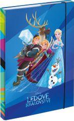 BAAGL teczka na zeszyty szkolne A4 Frozen