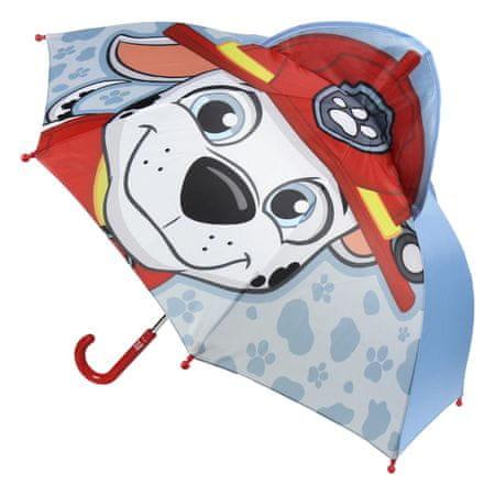 Disney chlapecký deštník Paw Patrol 42 šedá
