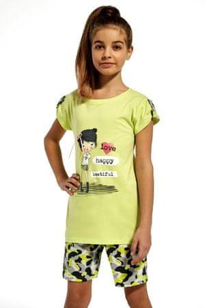 Cornette Lány pizsama 244/62 Young Girl, szeledin, 146/152