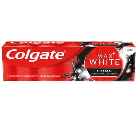 Colgate Max White Charcoal zobna pasta, 75 ml