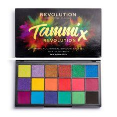 Makeup Revolution Szemhéjfesték paletta x Tammi trópusi karnevál 18 g