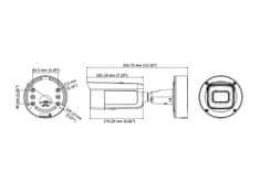 Hikvision DS-2CD2645FWD-IZS(B) - 4MPix IP venkovní kamera; ICR + EXIR + motorzoom 2,8-12mm; Audio, Alarm