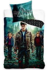 Carbotex Dětské povlečení Harry Potter a Čarodějové