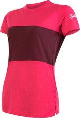 Sensor koszulka damska Merino Air Pt z krótkim rękawem