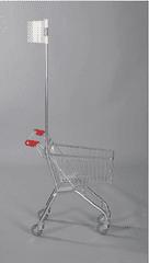 Polidar Nákupní dětský vozík s vlaječkou Avant mini 20 M
