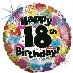 Grabo Nafukovací balónek k 18. narozeninám 46cm