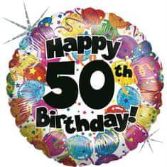 Grabo Nafukovací balónek k 50. narozeninám 46cm