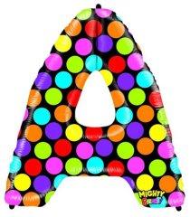 Grabo Nafukovací balónek písmeno A barevné 102 cm