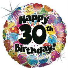 Grabo Nafukovací balónek k 30. narozeninám 46cm