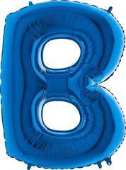 Grabo Nafukovací balónek písmeno B modré 102 cm