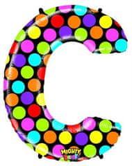 Grabo Nafukovací balónek písmeno C barevné 102 cm