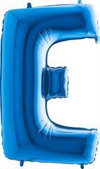 Grabo Nafukovací balónek písmeno E modré 102 cm