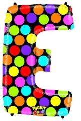 Grabo Nafukovací balónek písmeno E barevné 102 cm