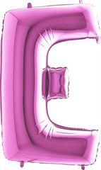 Grabo Nafukovací balónek písmeno E růžové 102 cm