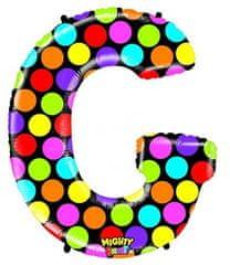 Grabo Nafukovací balónek písmeno G barevné 102 cm