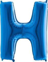 Grabo Nafukovací balónek písmeno H modré 102 cm