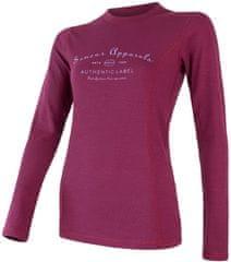 Sensor koszulka damska Merino Df Label z długim rękawem