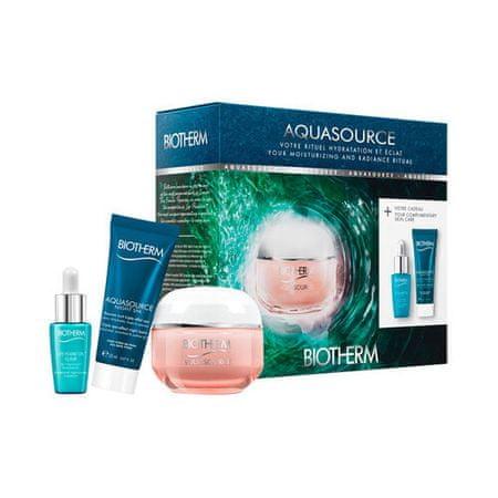 Biotherm Kosmetyki do pielęgnacji skóry zestaw dla skóry suchej Aquasource