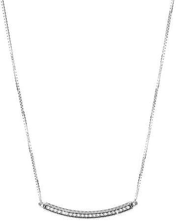 Pandora Luxus csillogó nyaklánc 397420CZ-50 ezüst 925/1000