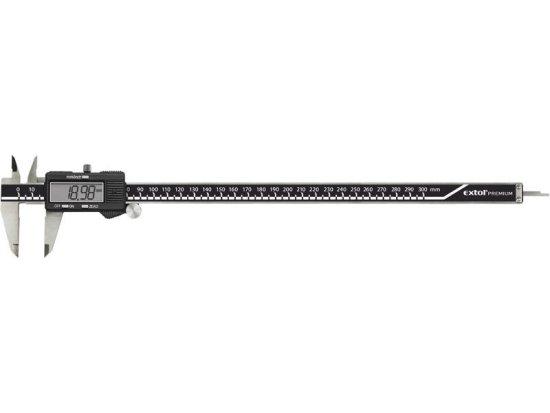 Extol Premium Meradlo posuvné digitálne, 300mm, rozlíšenie 0,01mm, presnosť 0,05mm