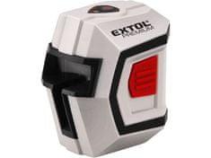 Extol Premium Laser liniový, křížový samonivelační 1H1V, přesnost 0,5mm/m, rozsah l.: 10m