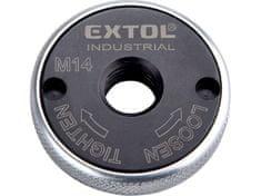 Extol Industrial Matice rychloupínací pro úhlové brusky, click-nut, M14