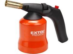 Extol Premium Hořák s piezo zapalováním na propichovací kartuše, max. teplota 1200°C