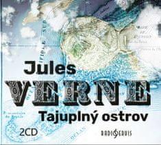 Verne Jules: Tajuplný ostrov (2x CD) - CD