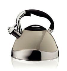 Kela čajnik VARUS, nehrđajući čelik, 3 l, sivi