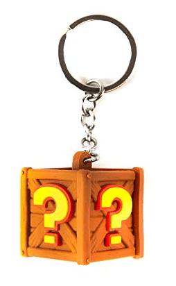 Rubber Road Crash Team Racing Nitro-Fueled Crate privjesak za ključeve