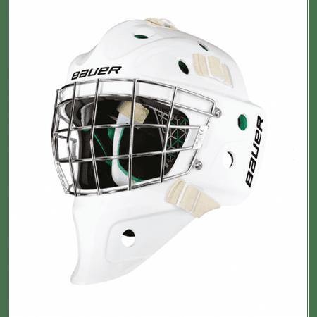 Bauer Maska NME4 S17 YTH, Bílá,Dětské,48-53cm