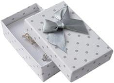 Jan KOS Polka dot box na zestaw biżuterii KK-6 / A1