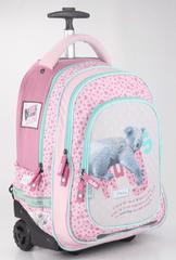 Animal Planet šolski nahrbtnik na kolesih – koala