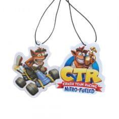 Rubber Road Crash Team Racing Nitro-Fueled Car osvježivač zraka za automobil, 2 komada