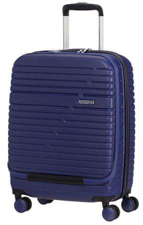 American Tourister potovalni kovček Aero Racer, 55 cm, moder