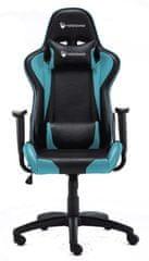Robaxo Race, gamerski stolac, plavi