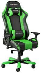 DXRacer King KS06/NE, černá/zelená (KS06/NE)