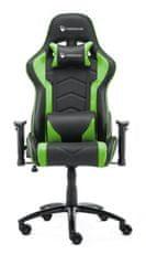 Robaxo Pro, gamerski stol, zelen