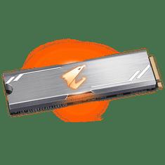 Gigabyte Aorus RGB M.2 NVMe SSD disk, 256 GB