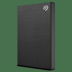 Seagate BackUp Plus Slim prenosni disk, 1 TB, 6,35 cm (2,5''), USB 3.0, črn