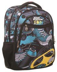 Back Me Up Plecak No Fear Yellow Graffiti