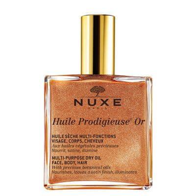Nuxe Multifunkčný suchý olej s trblietkami Huile Prodigieuse OR (Multi-Purpose Dry Oil) (Objem 100 ml)
