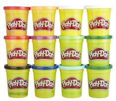 Play-Doh Csomagolás 12 darab tégely téli színekkel