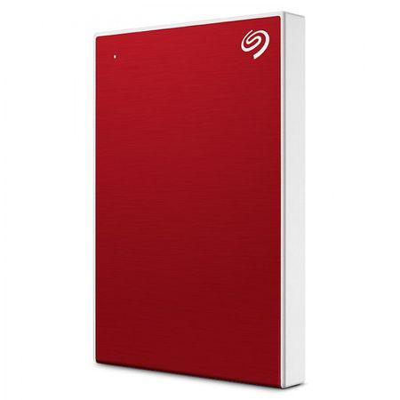 Seagate BackUp Plus Slim prenosni disk, 2 TB, 6,35 cm (2,5''), USB 3.0, rdeč