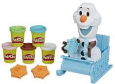Play-Doh Olaf in snežne kreacije