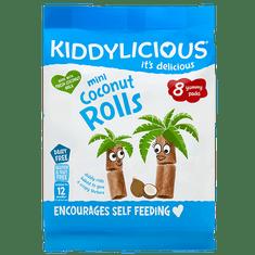 Kiddylicious Kokosové křupavé trubičky 5x54,4 g
