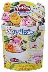 Play-Doh Zestaw zrolowanych lodów