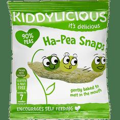 Kiddylicious Snack hráškové lusky 8x15 g